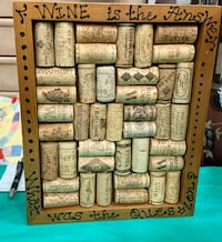 Cork Wall Decor