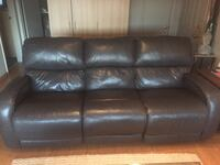 Dual reclining leather sofa Fairview, 97024