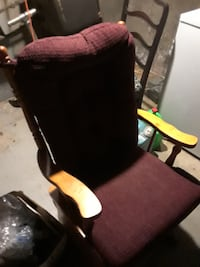 Oak Glider/Rocker Windsor