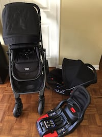 Britax stroller and car seat in excellent condition  Vaughan, L4L 9M6