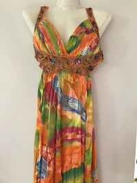Poem Dress special  event wedding Women's multicolored floral dress size 4-6 Miami, 33157