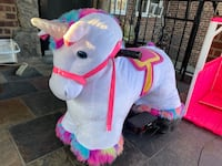 Electric Ride On Unicorn with Stable