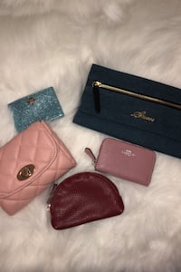 Guess, Coach, Kate Spade and Forever 21 wallets ALL FOR 30 Mississauga, L5M 0G6
