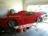 red and black car bed frame Corona de Tucson, 85641