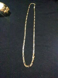 20'. 14k gold figaro link necklace  Inglewood, 90301