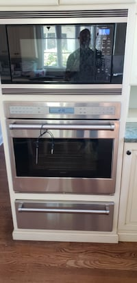 wolf wall oven, warming drawer, built in microwave New Rochelle