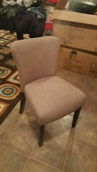 gray fabric padded armless chair Vaughan, L4L 3V6