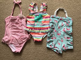 3 toddler girl swimsuits