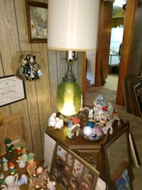 2 Vintage green table lamps College Park, 20740
