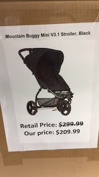 Mountain buggy mini stroller black  San Leandro, 94579