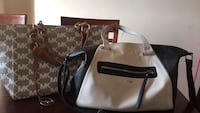 women's brown and white Louis Vuitton tote bag Toronto, M1E