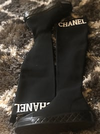 Chanel Knee high boots size 7-9