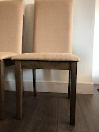 Brand new 4 dining chairs!!!  Toronto, M2K