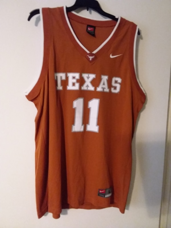 finest selection 3186b 85330 Texas Longhorns #11 (TJ Ford) Basketball Jersey - jersey retired