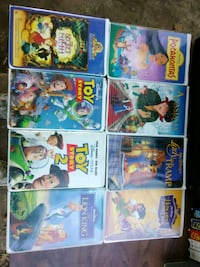 8 great VHS movies $80