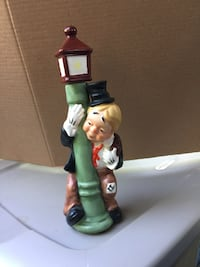 Vintage clown liquor decanter