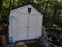 Shed for sale, 8x10 with new roof, about 2 years old. Need sold asap.