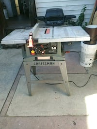 Craftman table saw Reading, 19604