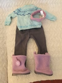 Frosty Fair Isle Outfit American Girl Doll Milford, 03055