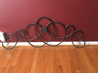 black and white metal wall decor Stafford, 22554
