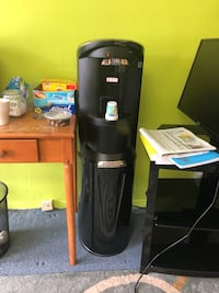 Black and gray hot and cold water dispenser Alexandria, 22314