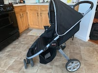Baby's black and gray jogging stroller Yorktown, 23693