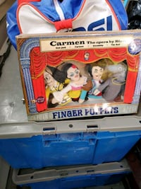 finger puppet theatre Mississauga