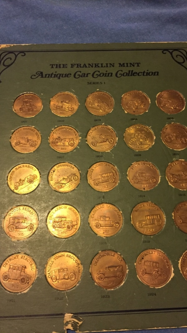 Coin Collection For Sale >> Used Round Gold Colored Coin Collection For Sale In Northampton Letgo