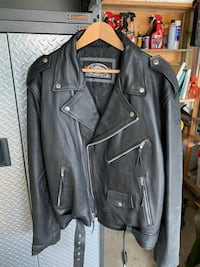 New Leather Motorcycle Jacket Chestermere, T1X 1C3