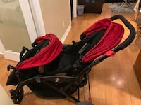 Baby twin stroller  Mississauga, L5M 5C9