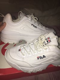 White fila sneakers  Irmo, 29063