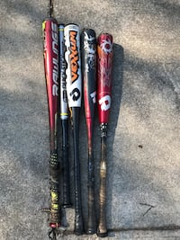 two black and red baseball bats Kingston, 37763