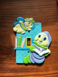 1984 Glow Worm light switch plate Annandale, 22003