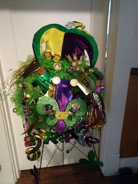 green and purple floral wreath Shreveport, 71104