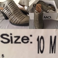 Brand new : size show on picture and color is Dove ( grey) Bakersfield, 93313