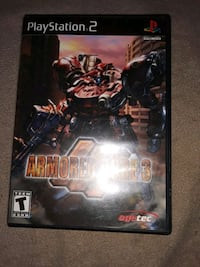 Ps2 Armored Core 3 Raleigh, 27603