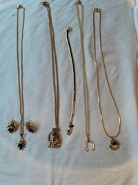 Necklace and earnings...$1 each Freehold, 07728