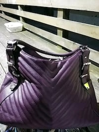Burgundy/purple purse