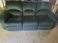 gray suede 3-seat sofa Fremont, 94536