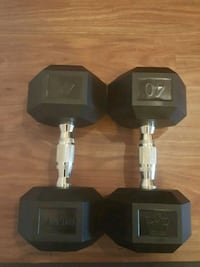 Hampton Rubber Dumbbells BRAND NEW OUT OF THE BOX Sunnyvale