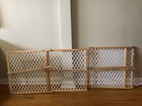 Dog/baby gate $20 each
