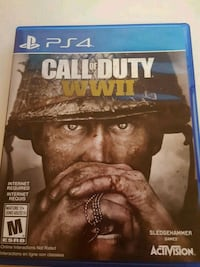 Call of Duty World War 2 PS4 Game Toronto, M9R 1Z1