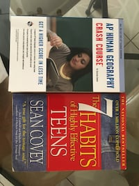 ap human geography crash course and 7 habits of highly effective teens
