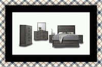 11pc Kate bedroom set with mattress Bowie, 20716
