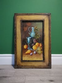 Fruit painting frame