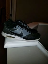pair of black-and-white Nike running shoes Edmonton, T5E 5S7
