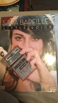 Sara Bareilles 'Little Voice' sheet music for piano guitar and vocals Peachland, V0H 1X1
