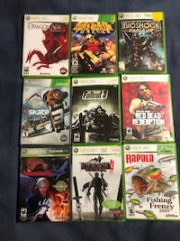 9 Xbox 360 games $30 for all!!!!! Edmonton, T5B