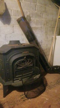 Cast Iron Woodburning Heat Stove