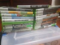 20 XBOX 360 GAMES and KINECT